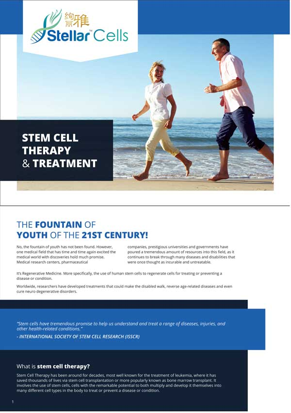 Stem Cell Therapy and Treatment