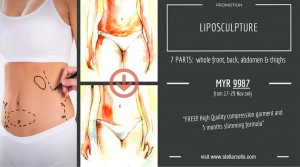 Liposculpture promotion